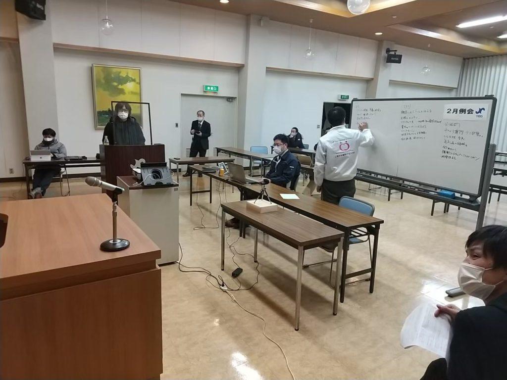 2月例会 小浜分科会体験会